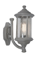 Brompton Wall Light with Lantern Old IP43, Iron | LV1802.0154