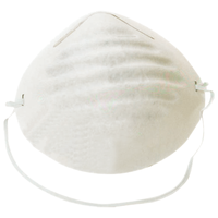 Standard white hygienic paper mask (50 per pack)