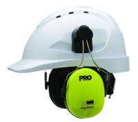 Pro Python Slimline Hi Vis Hard Hat Earmuff