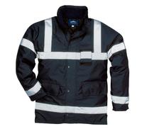PORTWEST S433 Iona Lite Jacket Navy c/w Reflective Strips