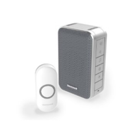 WIRELESS  DOORBELL WITH WITH VOLUME CONTROL GREY