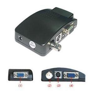BNC to VGA Convertor (phono to bnc needed)