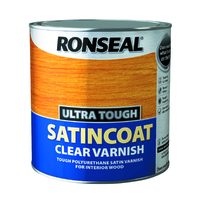 Ronseal Ultra Tough Varnish 2.5L Satin Coat