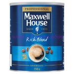 Maxwell House Rich Blend 750g Tin x1