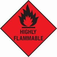 Dangerous Substances Sign DANG0003-0288