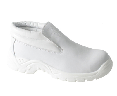 REDBACK Artic Microfibre Slip on Boot White S2 SRC