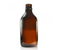 Winchester Bottles Amber 500ml No Cap, Glass,