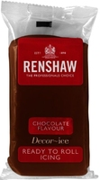 RENSHAW READY TO ROLL ICING CHOCOLATE FLAVOUR (2 x 2.5 Kgs)