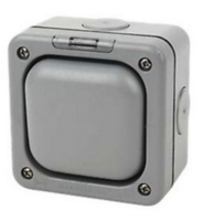 MK MASTERSEAL 10A 1GANG OUTDOOR SWITCH IP56