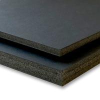 "Foam Board 10mm Pop-All black 40""x60"""