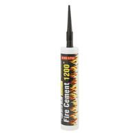 Bostik Fire Cement 1200 Black Cartridge