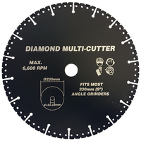Vires Diamond Multi Cutter 230mm 22.2mm bore