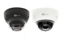 IC Realtime 4MP IP H.265E 2.7~13.5mm Motorised 30m IR IK10 Dome Camera (White or Black)