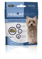 VETIQ Breath & Dental Care Dog & Puppies Treats 70g x 6