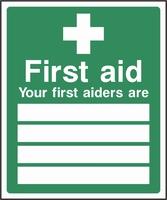 First Aid Sign FAID0004-0551