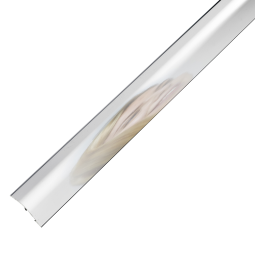 2-in-1 Stick Down Ramp Edge / Cover Strip 0-12mm Reflections 0.9m