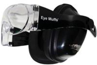 Eyemuff Combo Black - Clear Lens