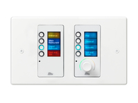 BSS EC-8BV WHT Ethernet Controller with 8 Buttons and Volume Control White