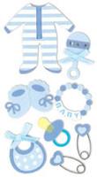 Baby Boy Essential Craft Sticker.