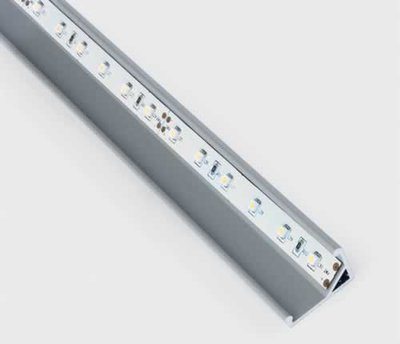 ONE Light 2m White Triangle Profile for LED Strip