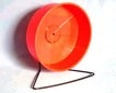 "Fuzzballs Plastic Rat Wheel on Stand 8"" x 1"