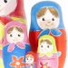 Paint Your Own Matryoshka Dolls - close-up