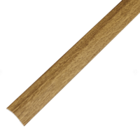 2-in-1 Stick Down Ramp Edge / Cover Strip 0-12mm Zenith 2.7m