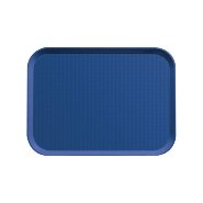 Fast Food Tray Navy Blue 355mm x 255mm