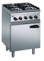 Lincat SLR6C/P 4 Burner Gas Range 600 x 600 x 935mm