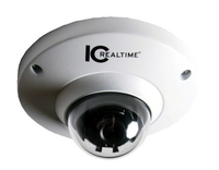 IC Realtime 5MP IP H.264 1.42mm (Fisheye) IK10 Dome Camera with Microphone
