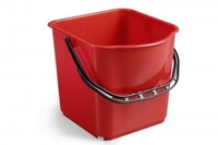 BUCKET 25ltr CALIBARATED RED