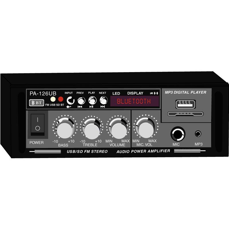 Audio Power Amplifier 12V 120W