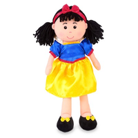 Snow White Rag Doll standing up