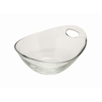 Handled Glass Bowl 12 x 6.4 x 15cm 24.5cl Carton of 6