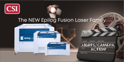 Lights, Camera, Action - The New Fusion Laser Family from Epilog