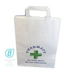 STOCK PHARMACY SMALL CARRIER WHITE (PK 500)