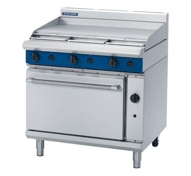 Griddle Plate Oven Range LPG 900x812x915mm