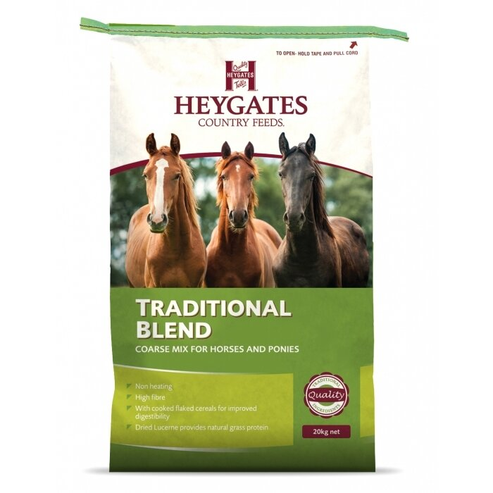 Heygates Traditional Blend Horse Coarse Mix 20kg
