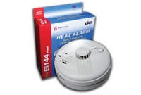 Aico Ei144RC Heat Alarm Hush Alkaline Battery Back Up & Mounting