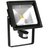 ENLITE 50W LED FLOOD LIGHT 220-240V 3750LM 4000K COOL WHITE 25,000HRS WITH PIR