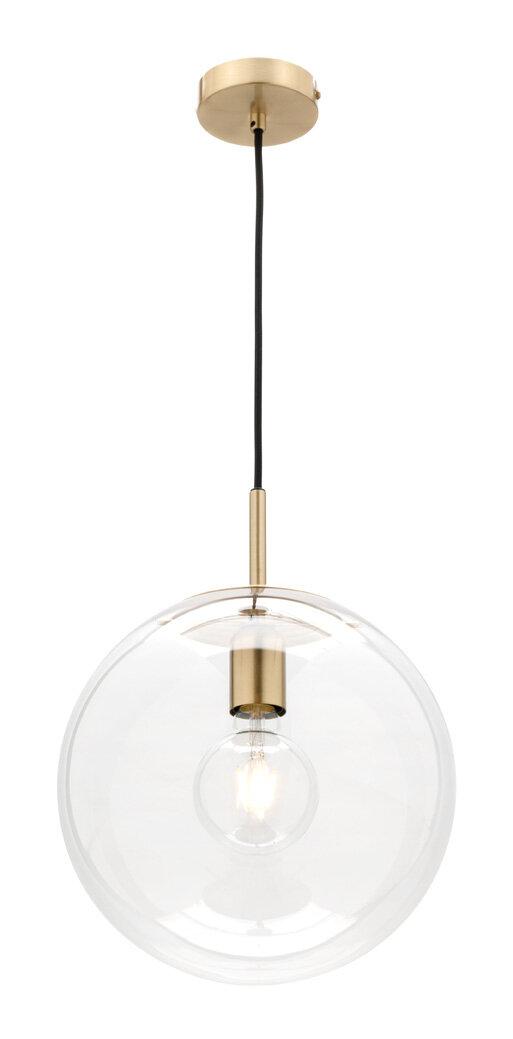 Mercator Madrid Medium 1 Light Pendant Brass