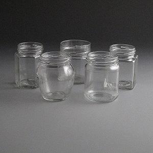 Glass Jars 190ml to 230ml