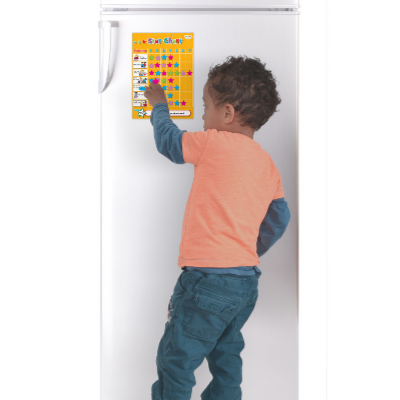 child using small star chart