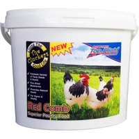 Cluckers Red Comb Superior Poultry Food 5kg x 1