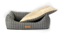 Ralph & Co Nest Bed - Henley Grey Tweed Small x 1