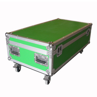 Prostage Flightcase for 4 of 1m x 0.5m panels & risers