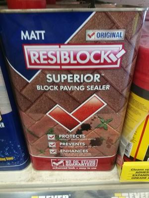 RESIBLOCK SUPERIOR MATT SEALER 5L