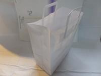 PLAIN WHITE F.H CARRIER 180x90x220 (PACK 500)