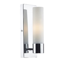Adagio 1 Bracket Light Wall Polished Chrome, IP44 | LV1802.0023