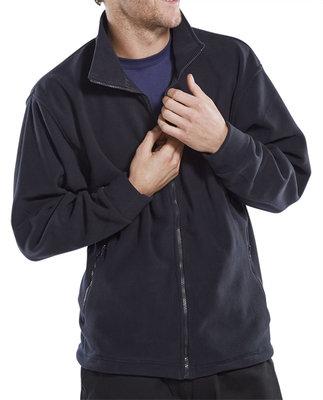 Click Navy Fleece Jacket